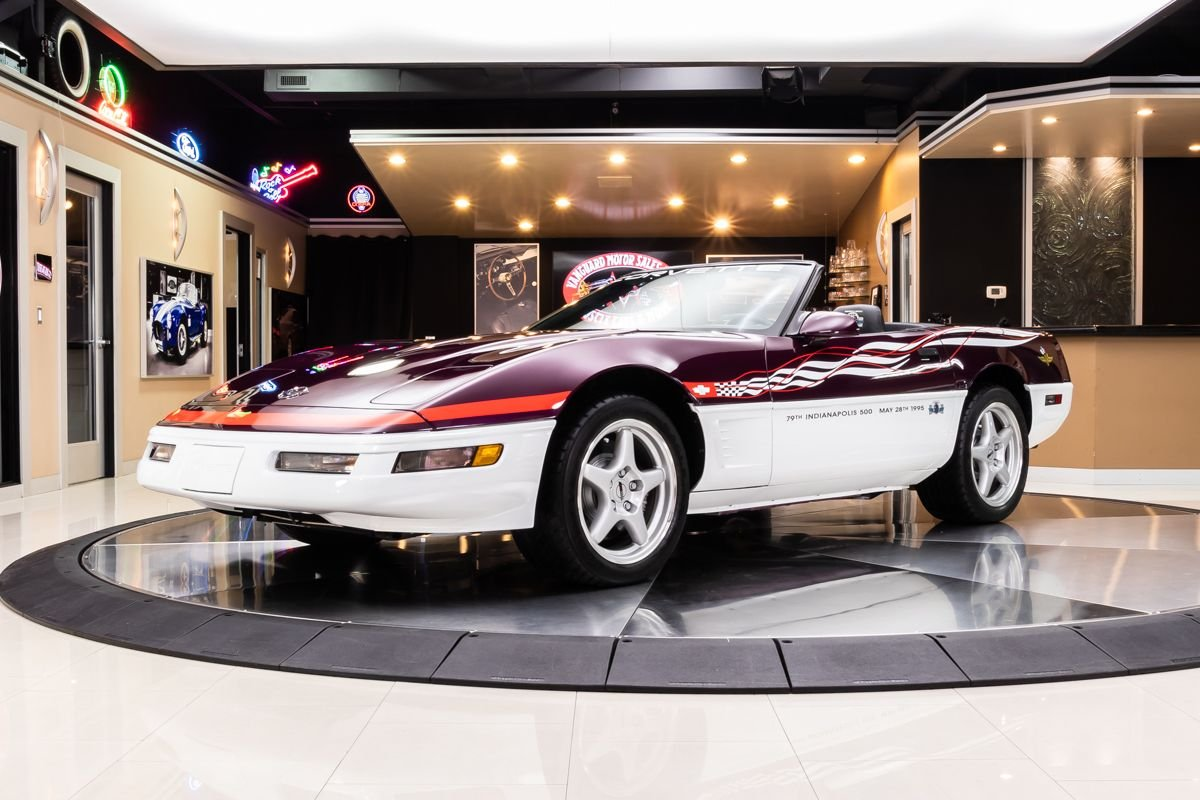 1995 chevrolet corvette pace car convertible