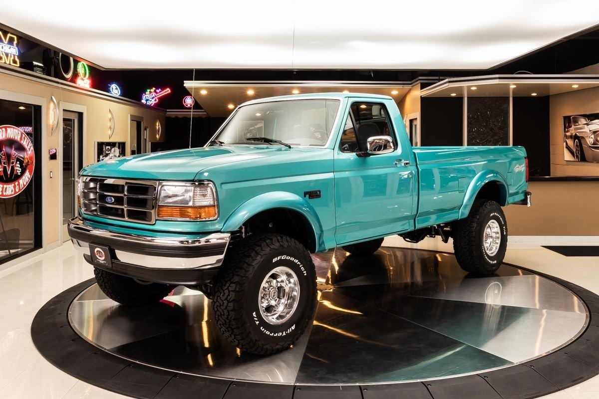 1995 ford f 150 xlt 4x4 pickup
