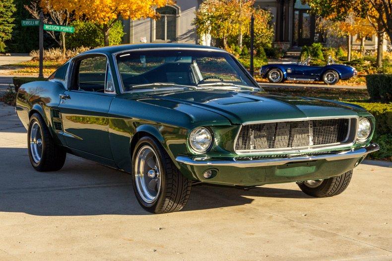 Mustang 1967 Colors