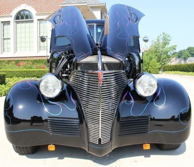 1939 chevrolet street rod coupe