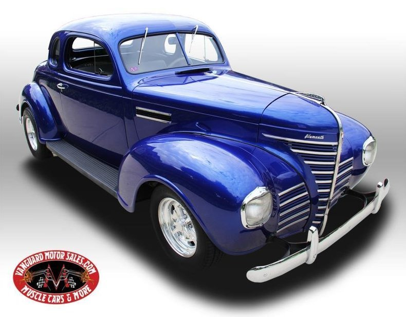 1939 plymouth street rod steel coupe