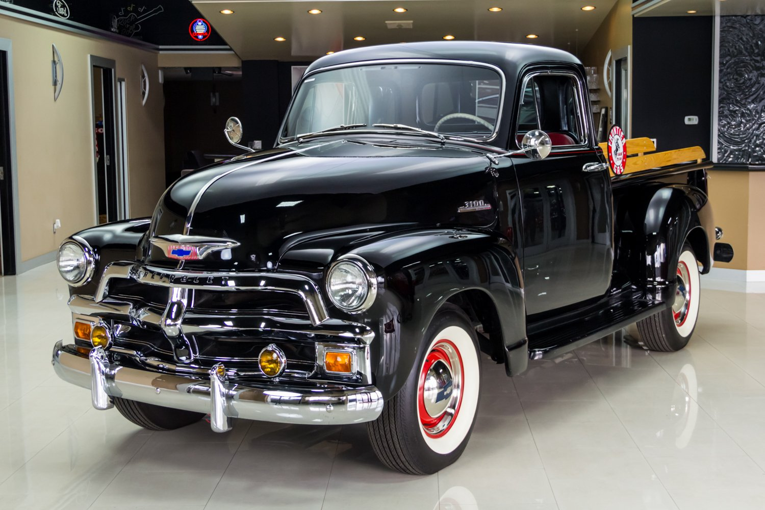 1954 chevrolet 3100 5 window deluxe pickup