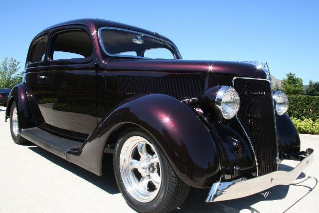 1936 ford street rod fuel injected
