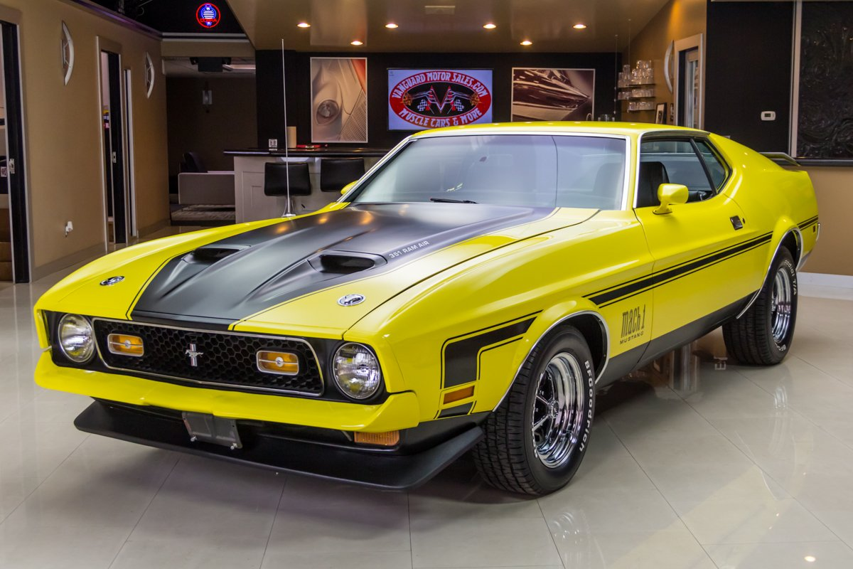 1971 Ford Mustang Classic Cars For Sale Michigan Muscle Old Cars Vanguard Motor Sales