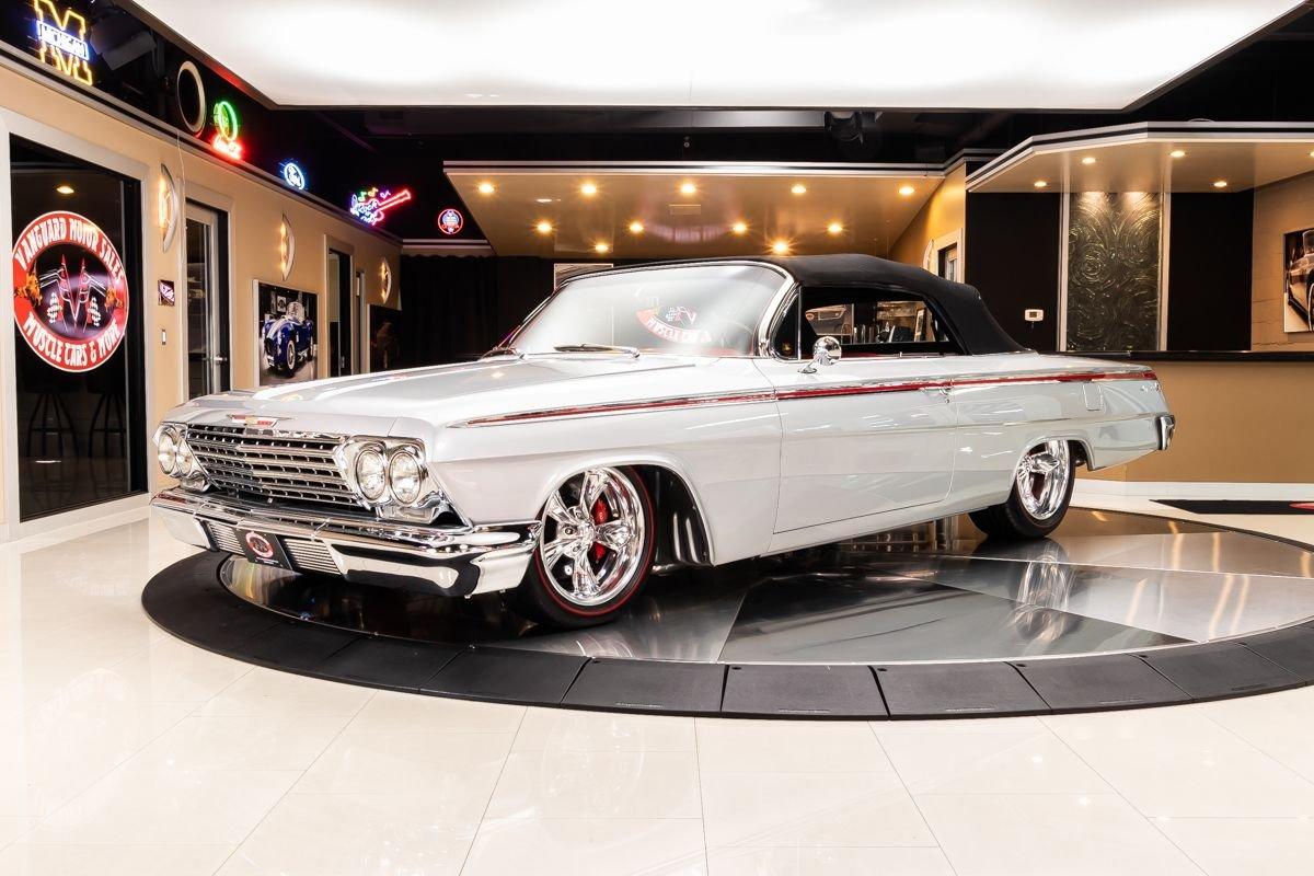 1962 chevrolet impala convertible restomod