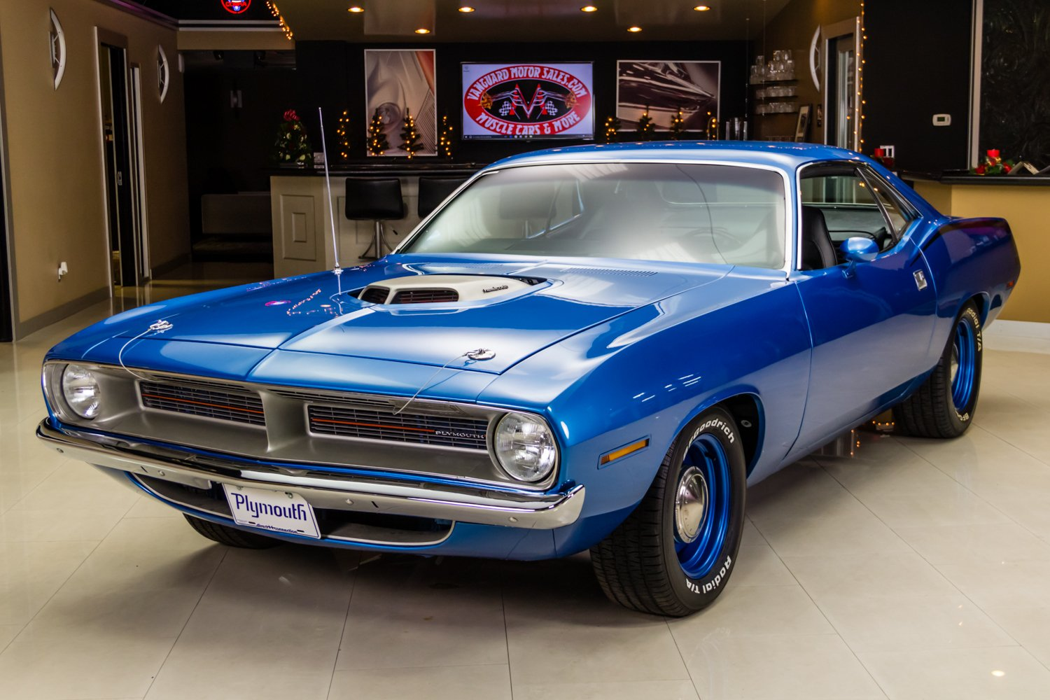 1970 plymouth cuda hemi recreation