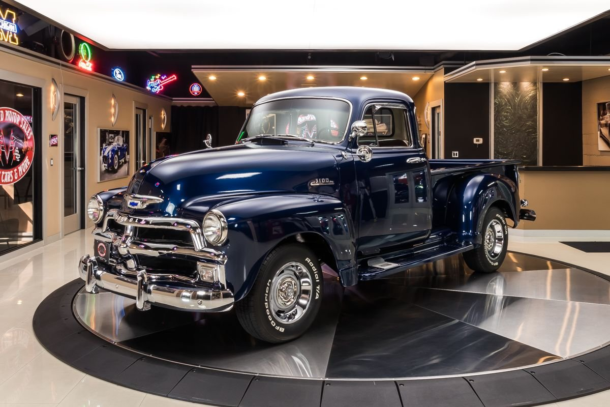 1954 chevrolet 3100 5 window pickup