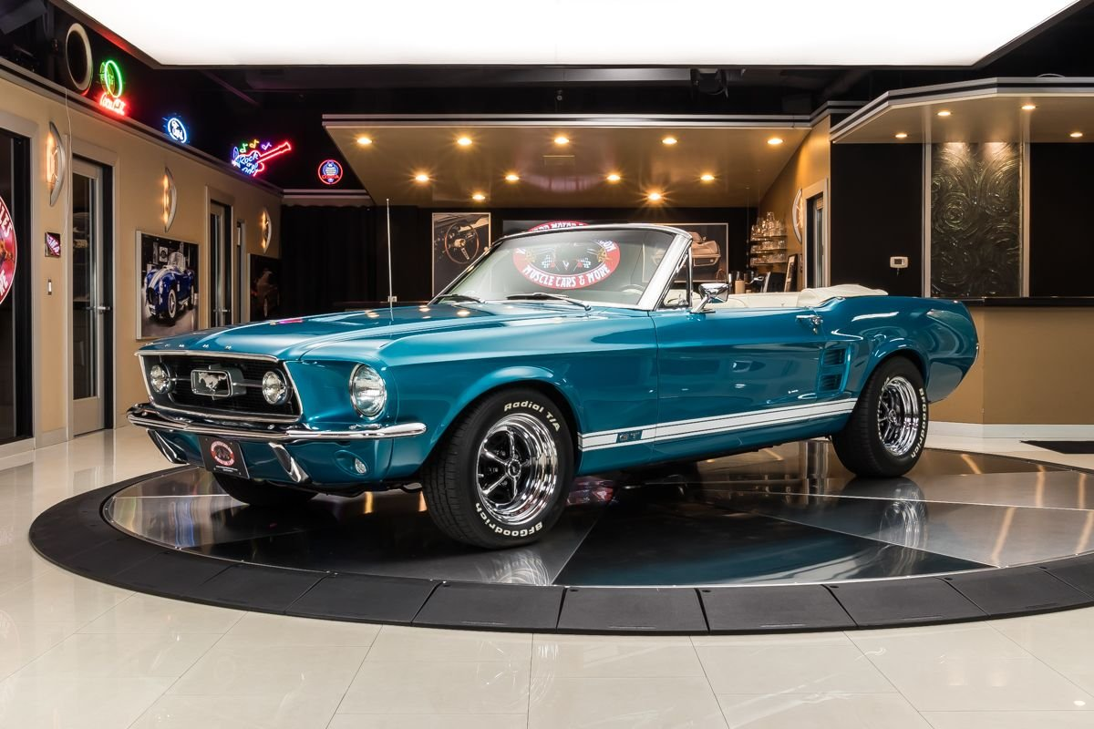 1967 ford mustang s code convertible