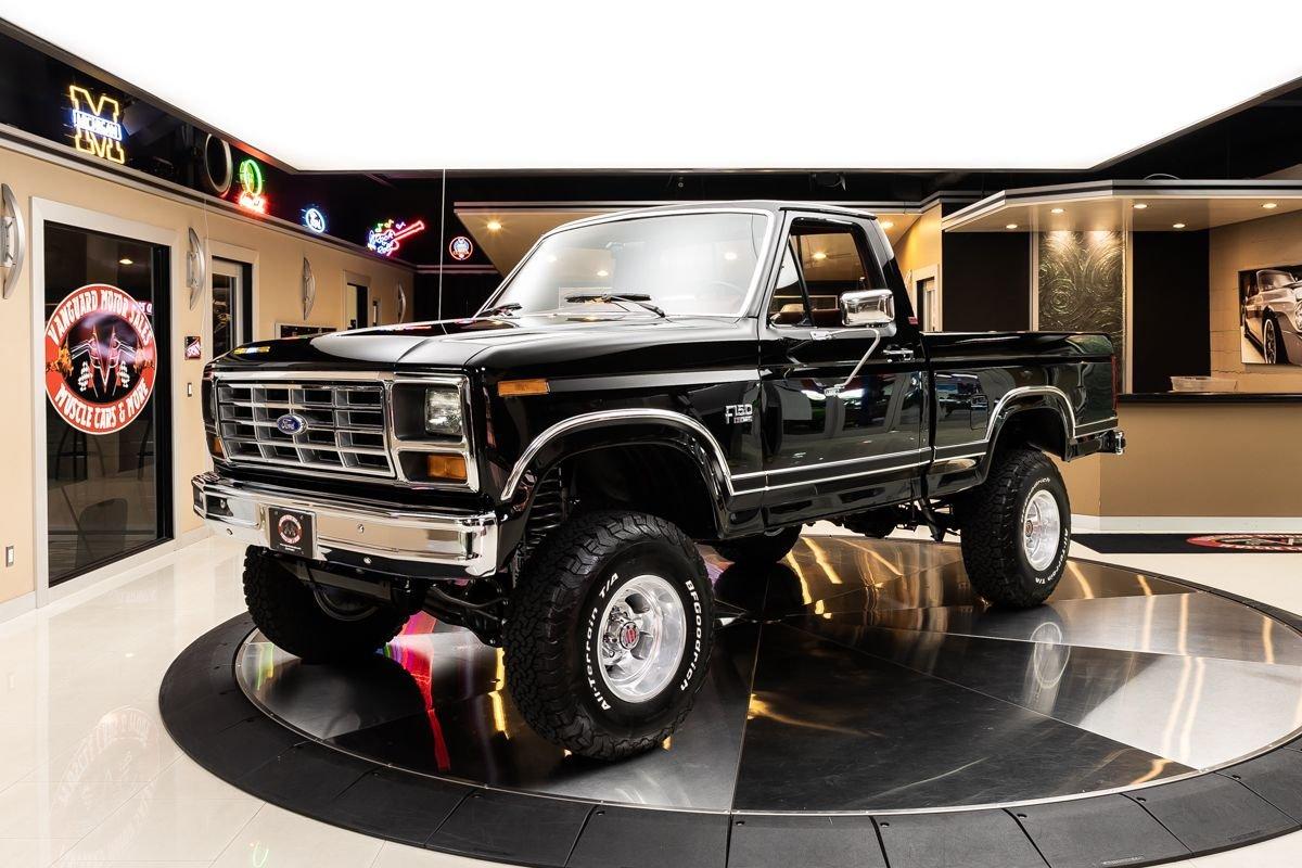 1986 ford f150 xlt lariat 4x4 pickup