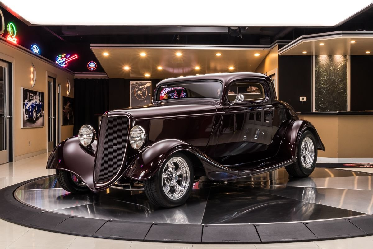 1934 ford 3 window coupe street rod