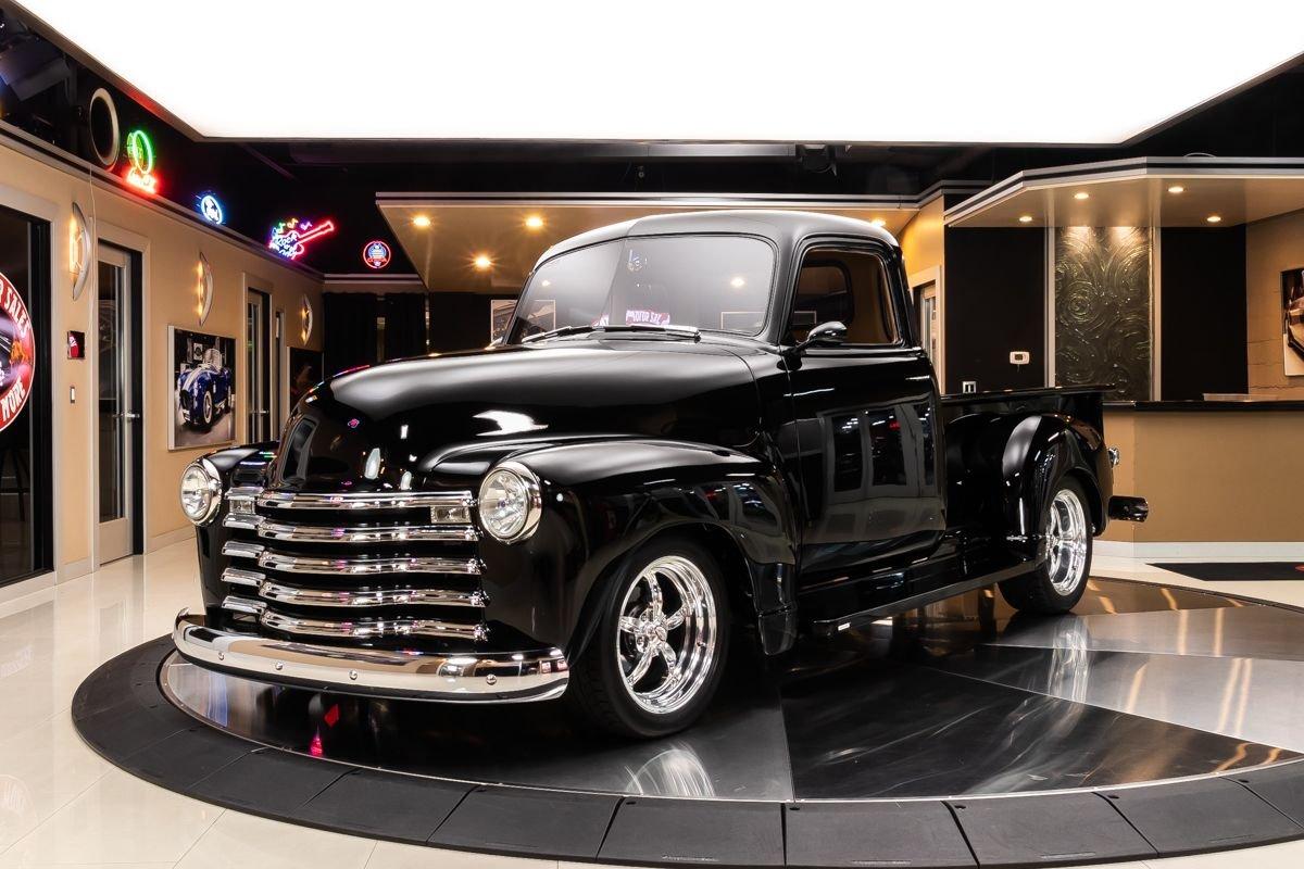 1947 chevrolet 3100 5 window pickup restomod