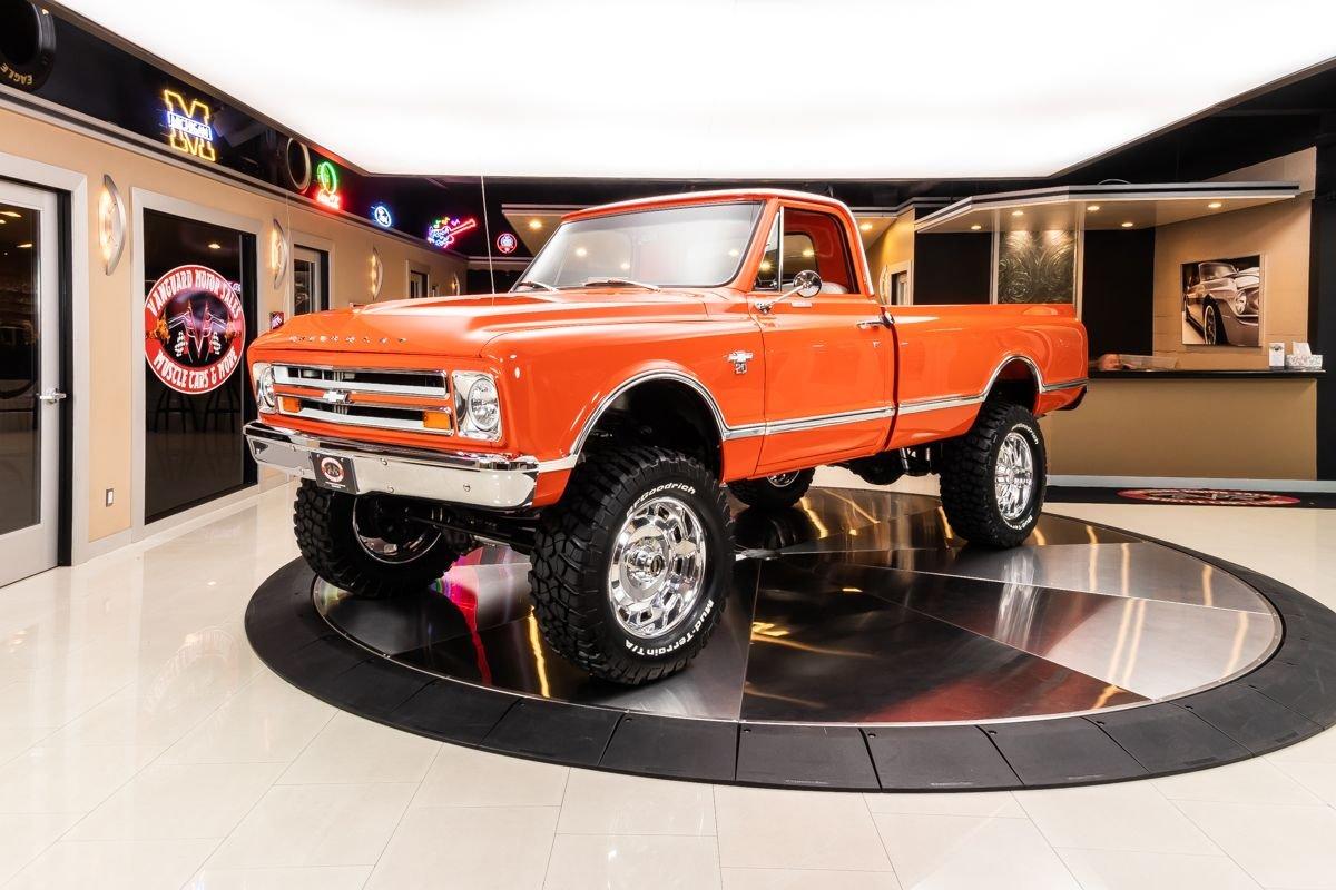 1967 chevrolet k 20 4x4 pickup