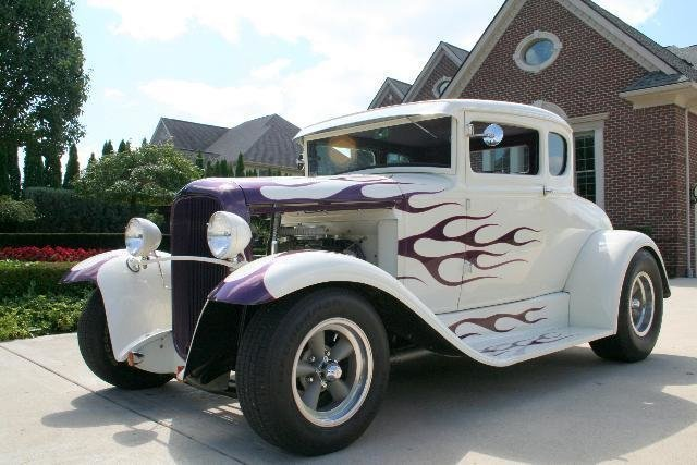 1930 ford street rod steel rod
