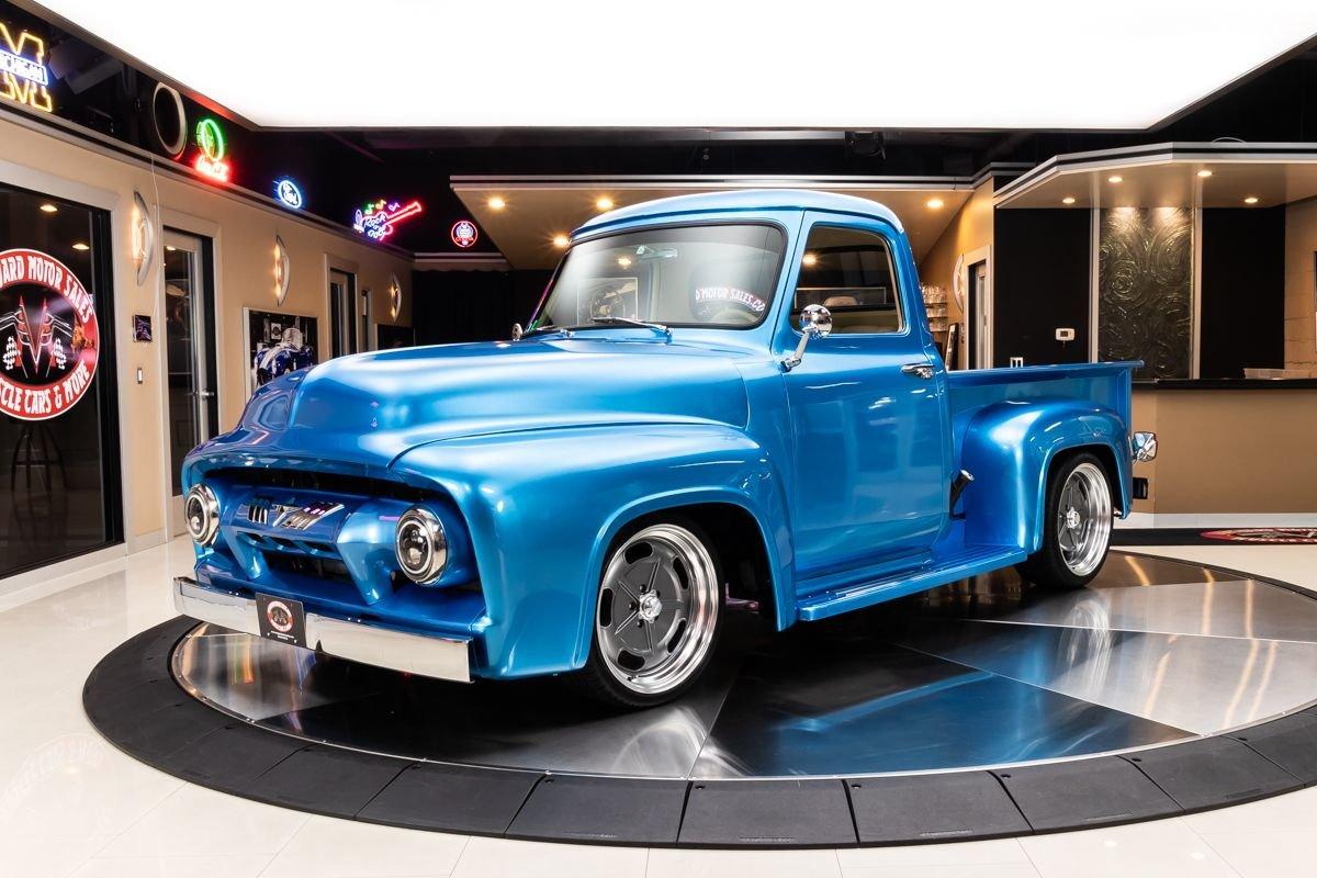 1954 ford f100 pickup restomod