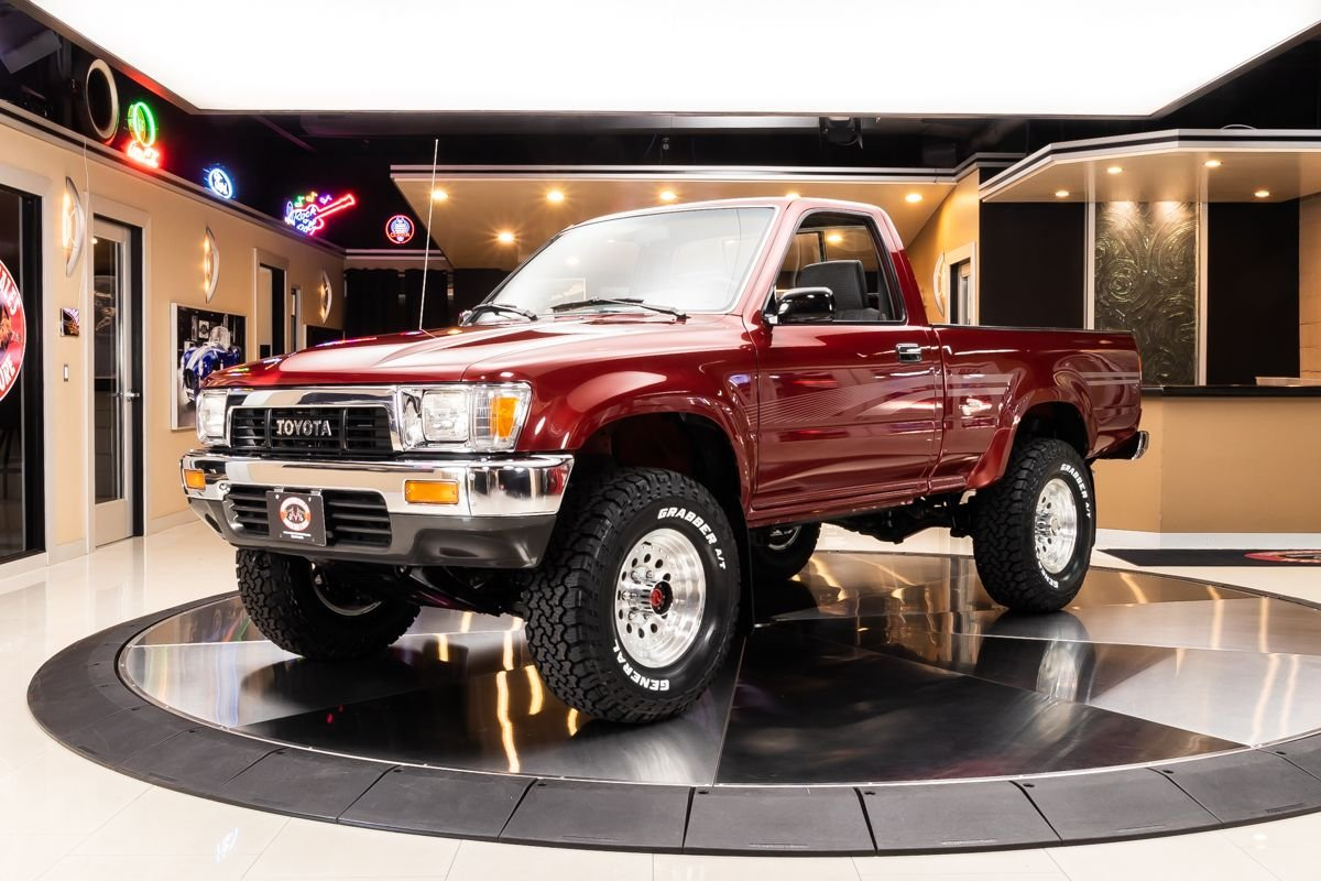 1991 Toyota Pickup 4x4 Classic Cars For Sale Michigan Muscle Old Cars Vanguard Motor Sales