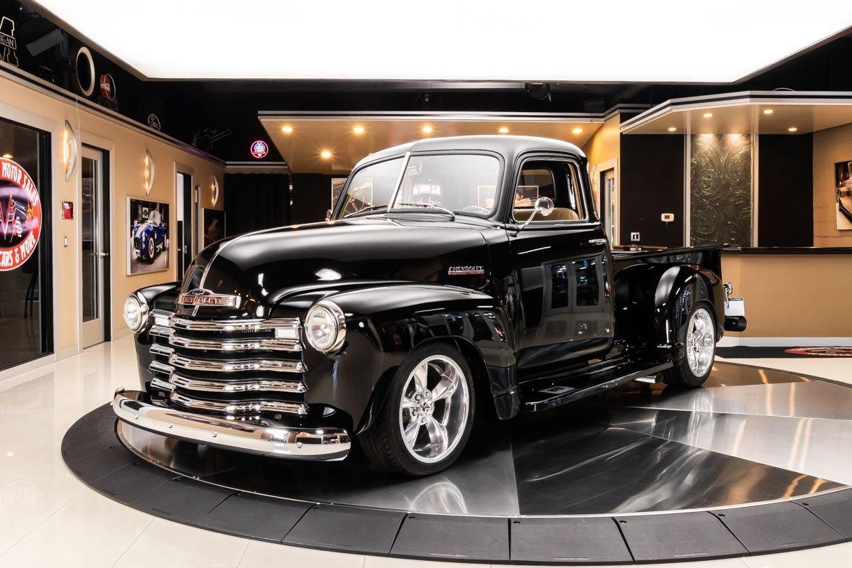 1949 chevrolet 3100 5 window pickup restomod