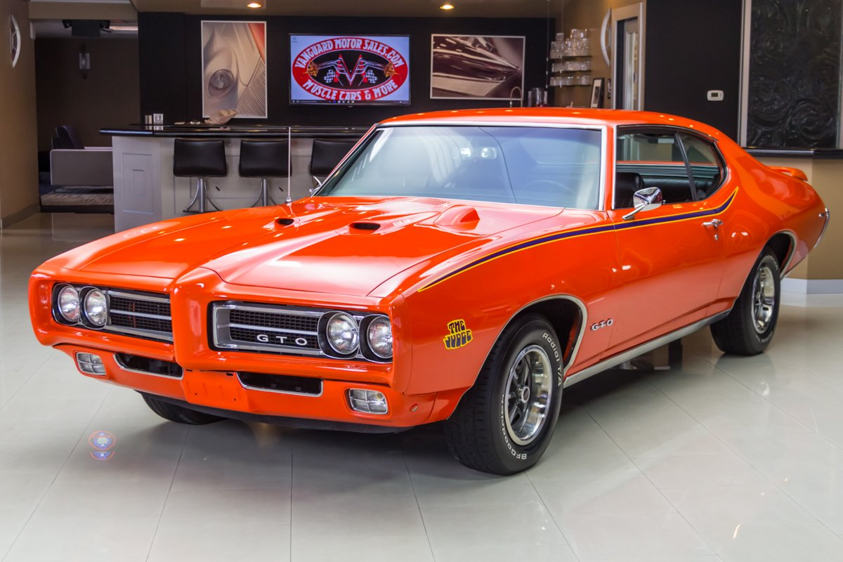 1969 Pontiac Gto Classic Cars For Sale Michigan Muscle Old Cars Vanguard Motor Sales