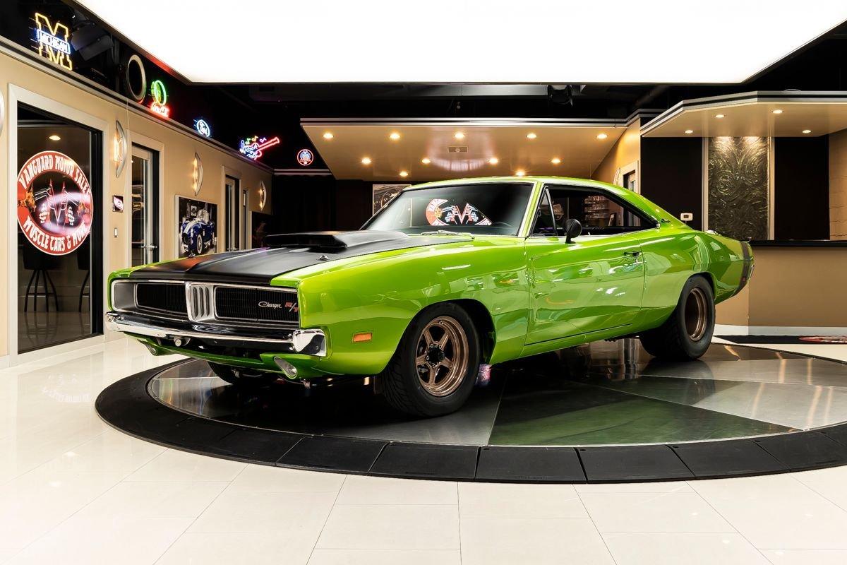 1969 dodge charger r t restomod