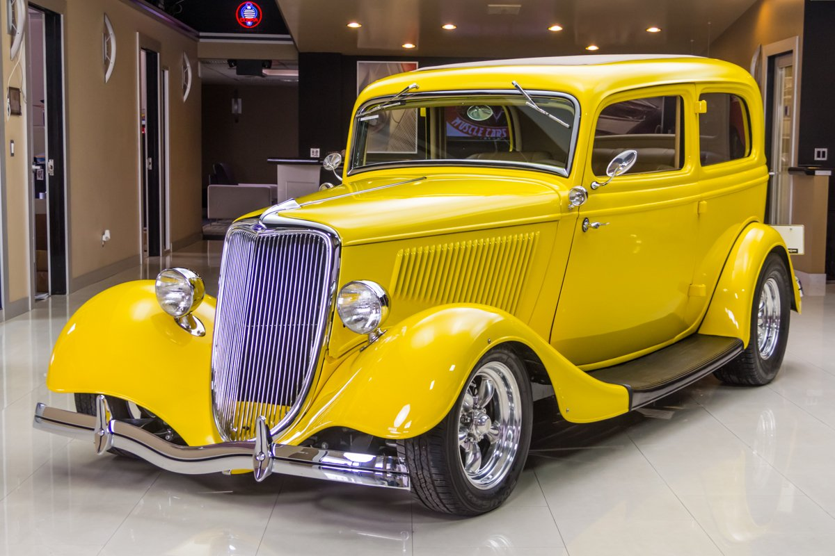 1934 ford tudor sedan street rod