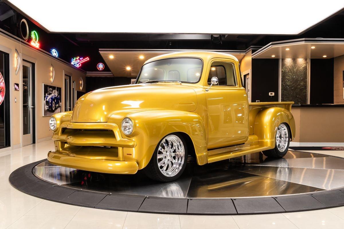 1954 chevrolet 3100 5 window pickup restomod