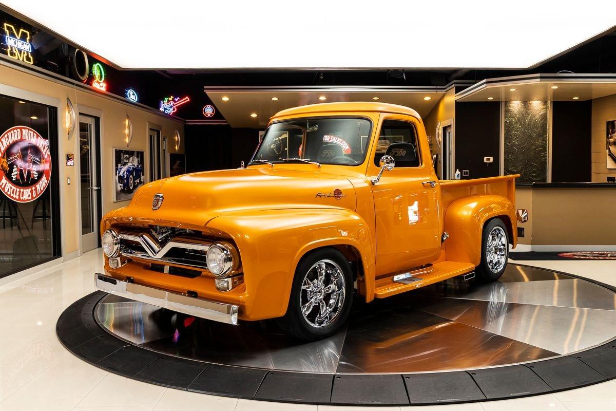 1955 ford f100 pickup restomod
