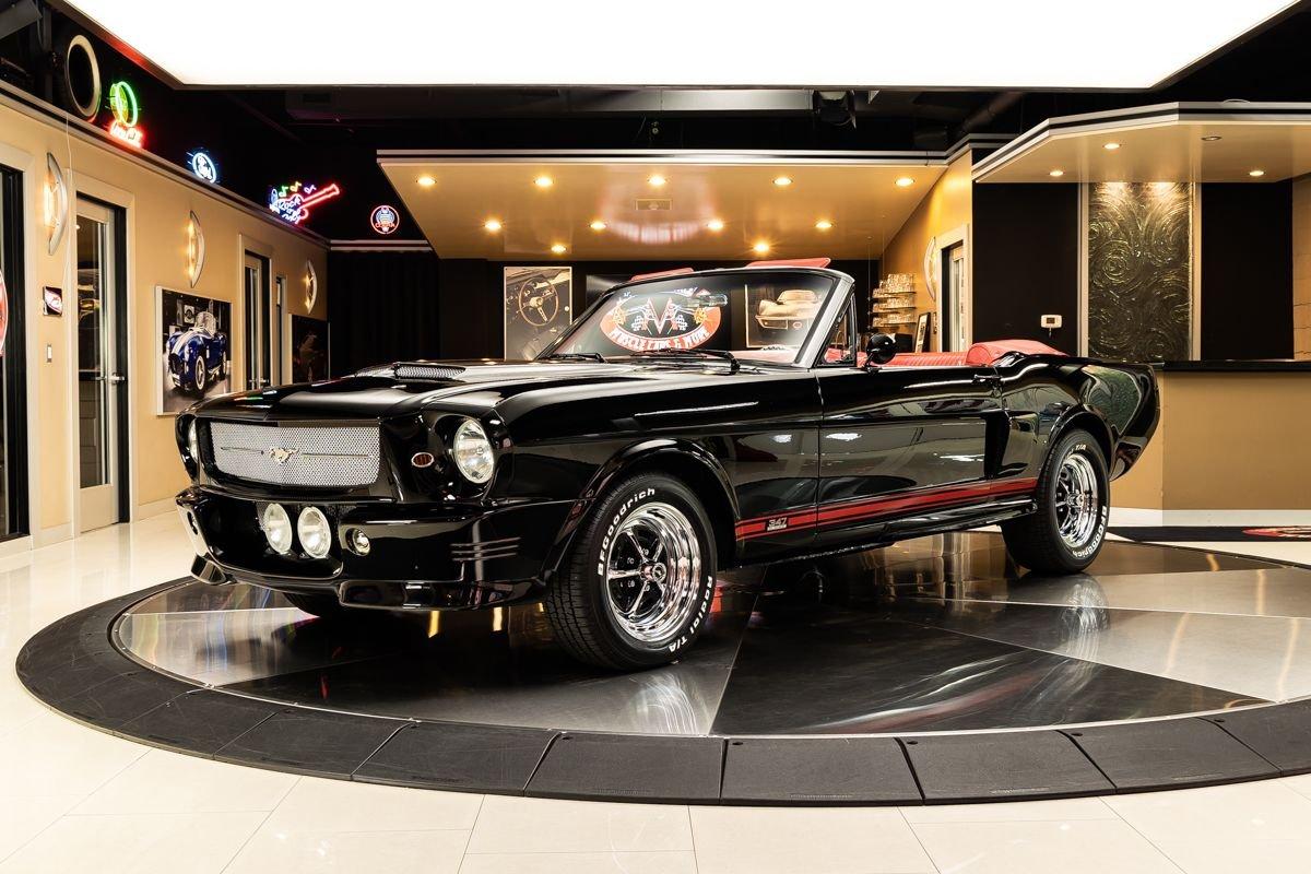 1965 ford mustang convertible restomod
