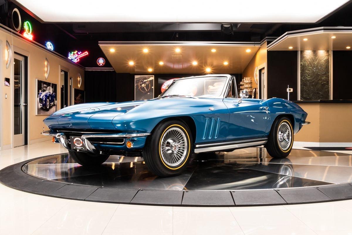 1965 chevrolet corvette convertible 327 365