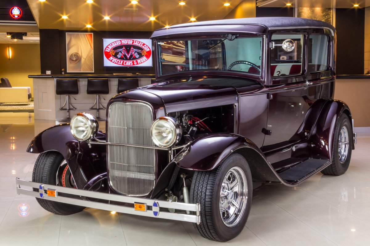 1930 ford model a tudor sedan street rod