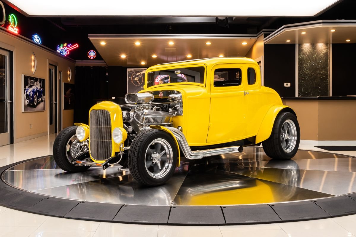 1932 ford 5 window coupe street rod american graffiti