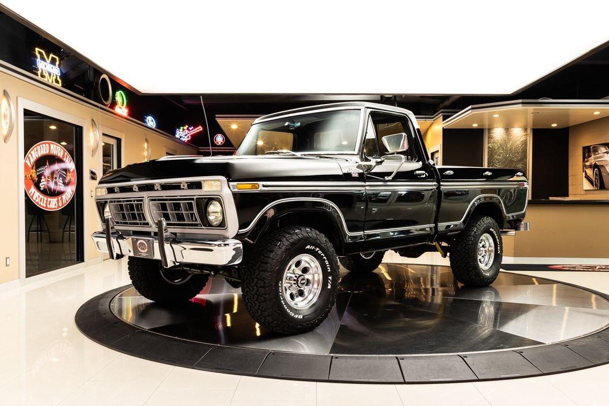 1977 ford f150 ranger xlt 4x4 pickup