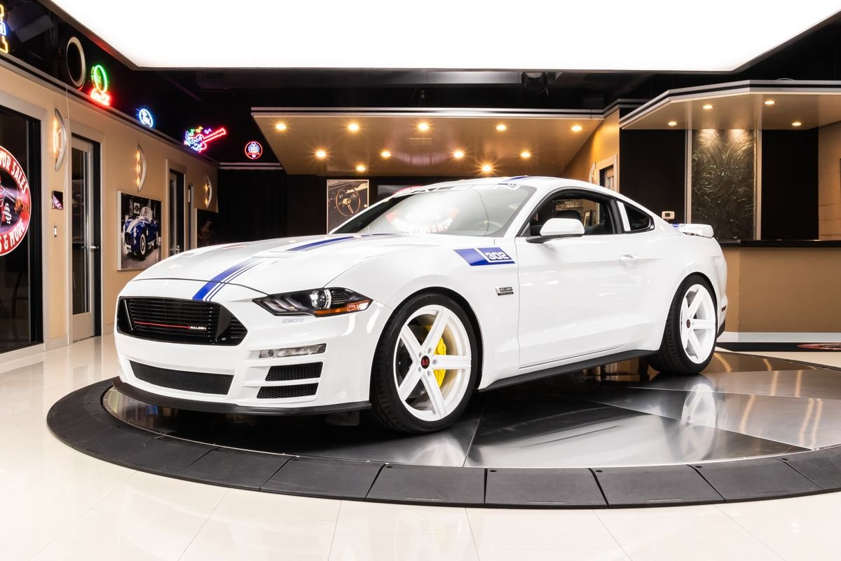 2019 ford mustang saleen s302 white label