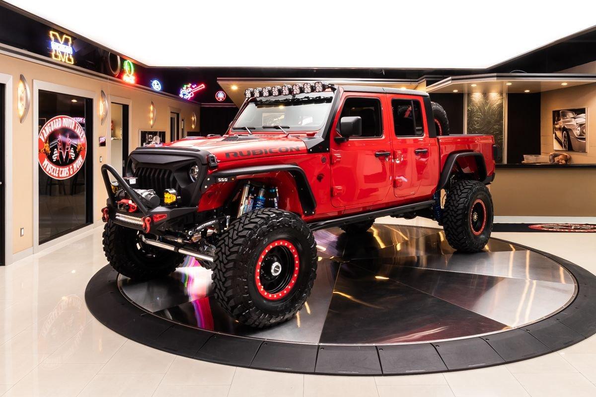 2020 jeep gladiator rubicon hellcat 4x4