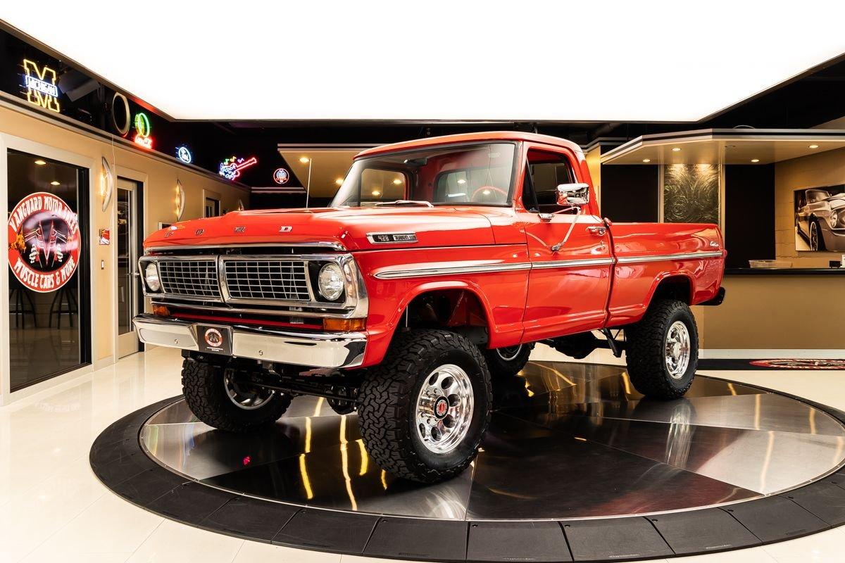 1970 ford f100 4x4 pickup