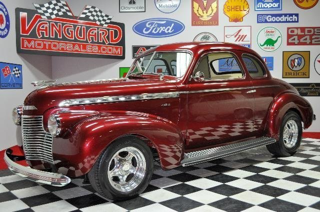 1940 chevrolet street rod big block