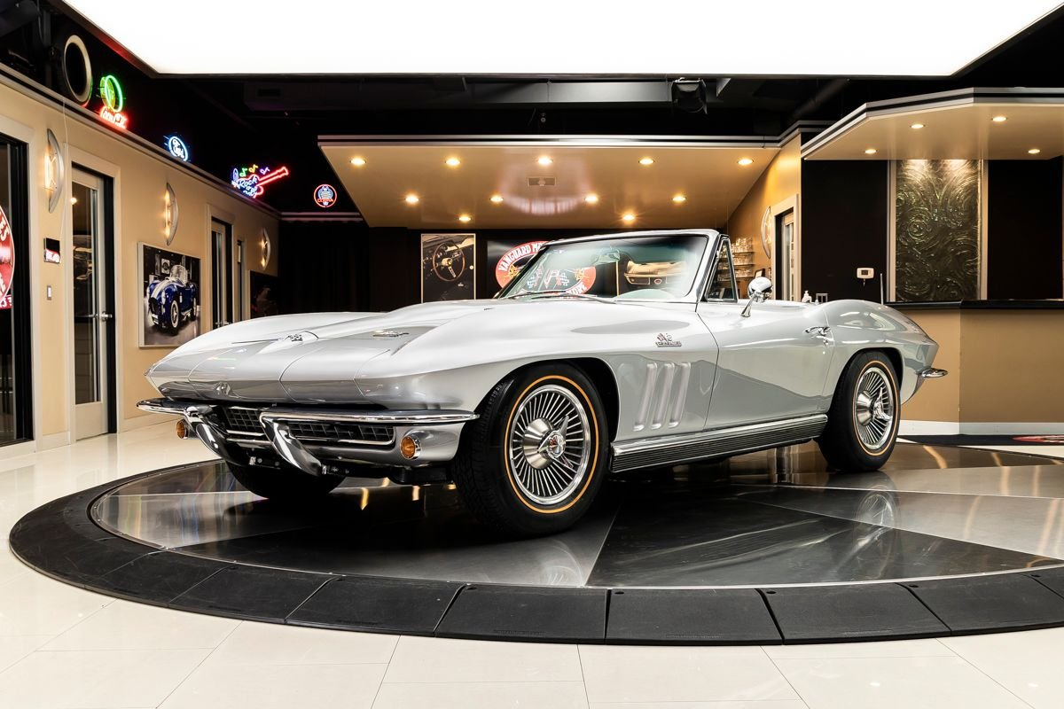 1966 chevrolet corvette convertible 427 390