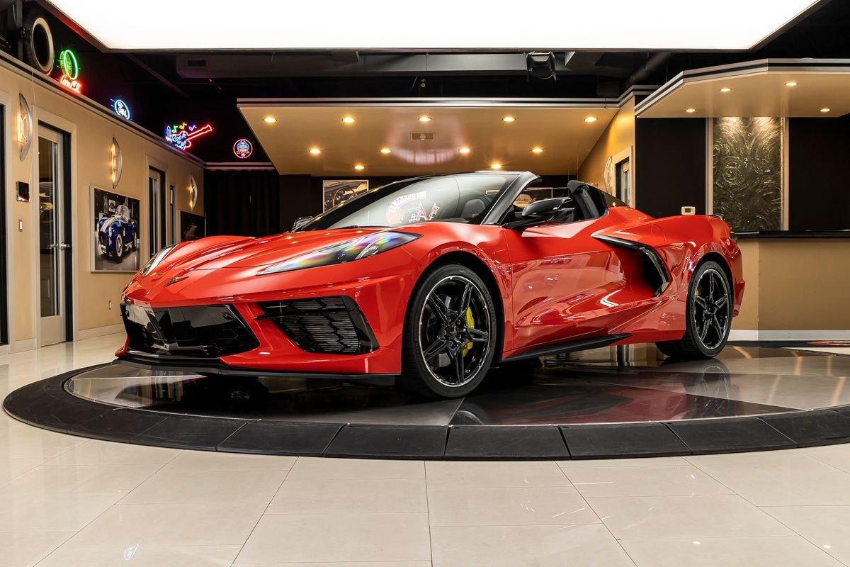 2021 chevrolet corvette stingray 2lt convertible
