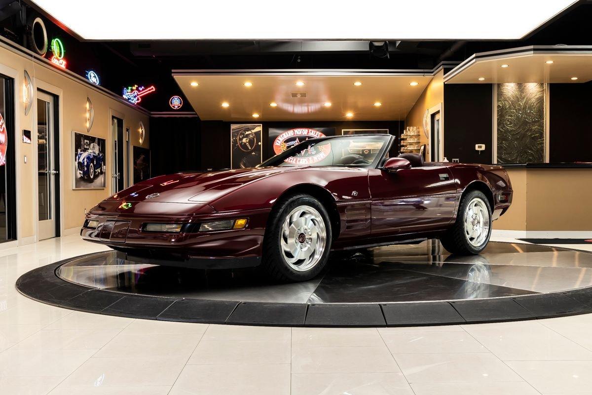 1993 chevrolet corvette convertible 40th anniversary
