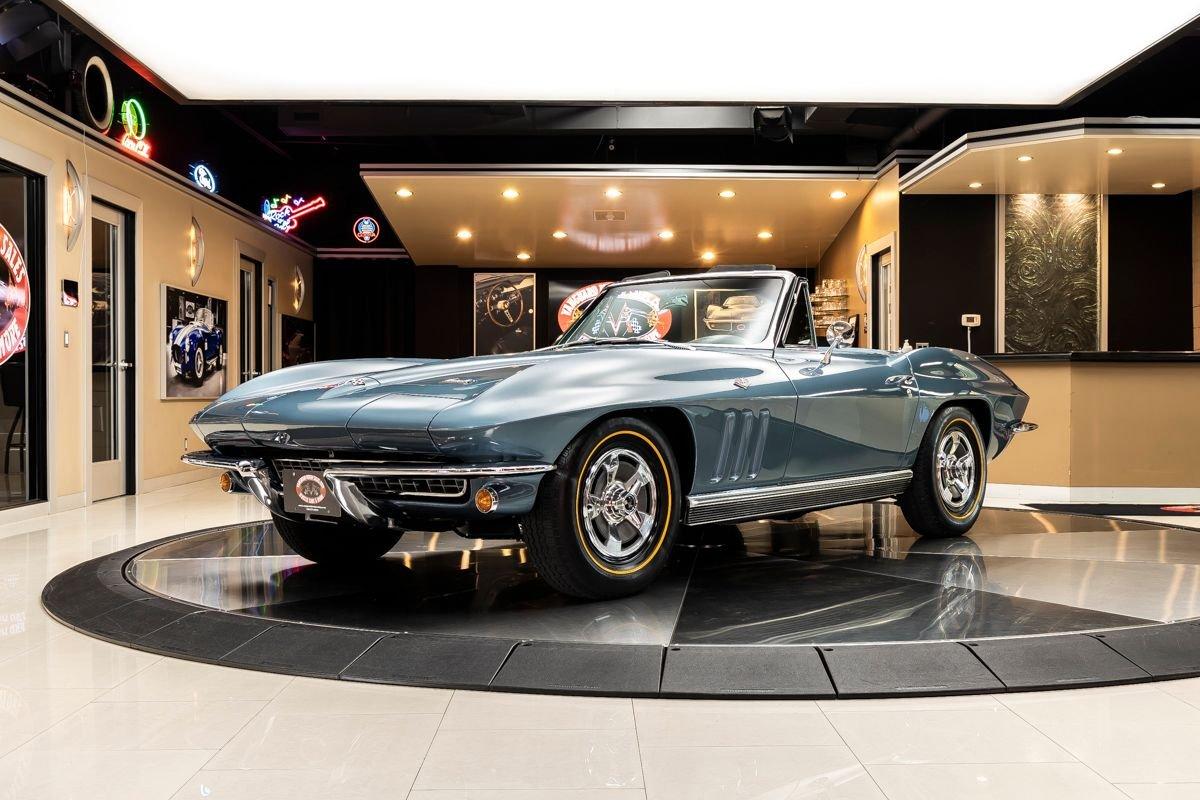 1966 chevrolet corvette copo convertible 327 350