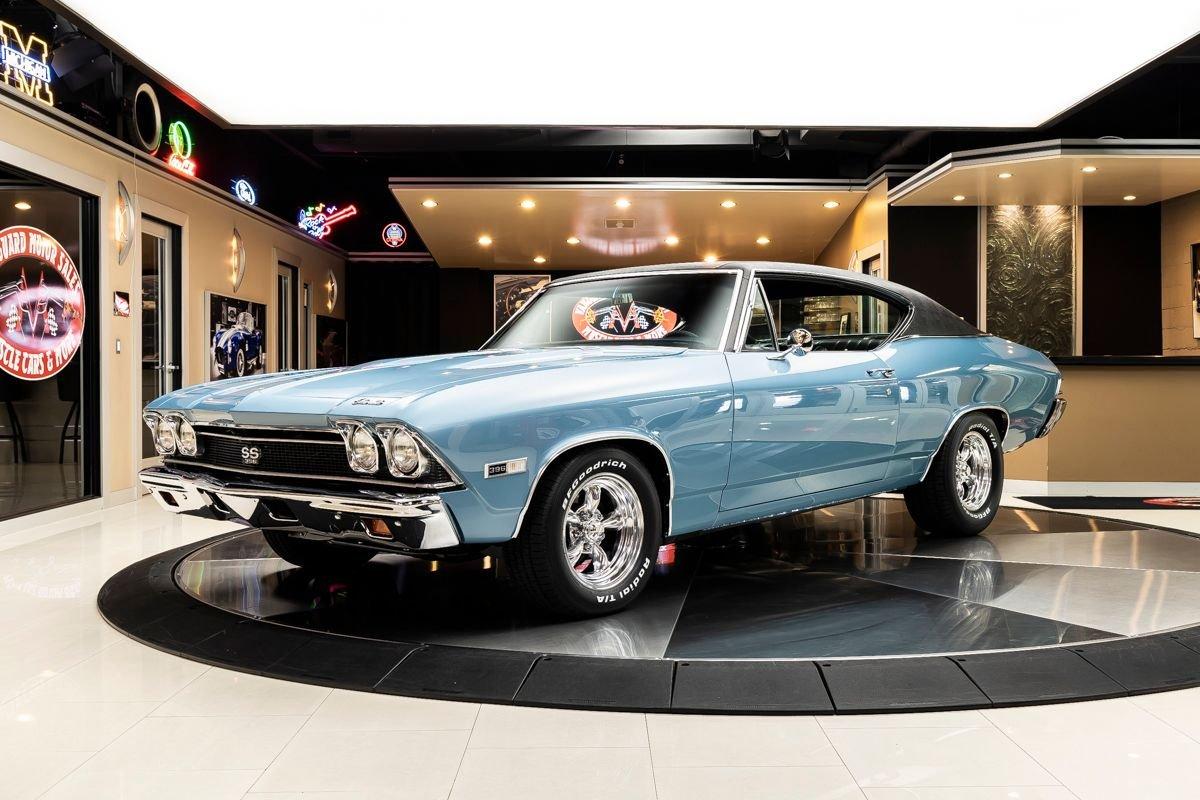 1968 chevrolet chevelle ss