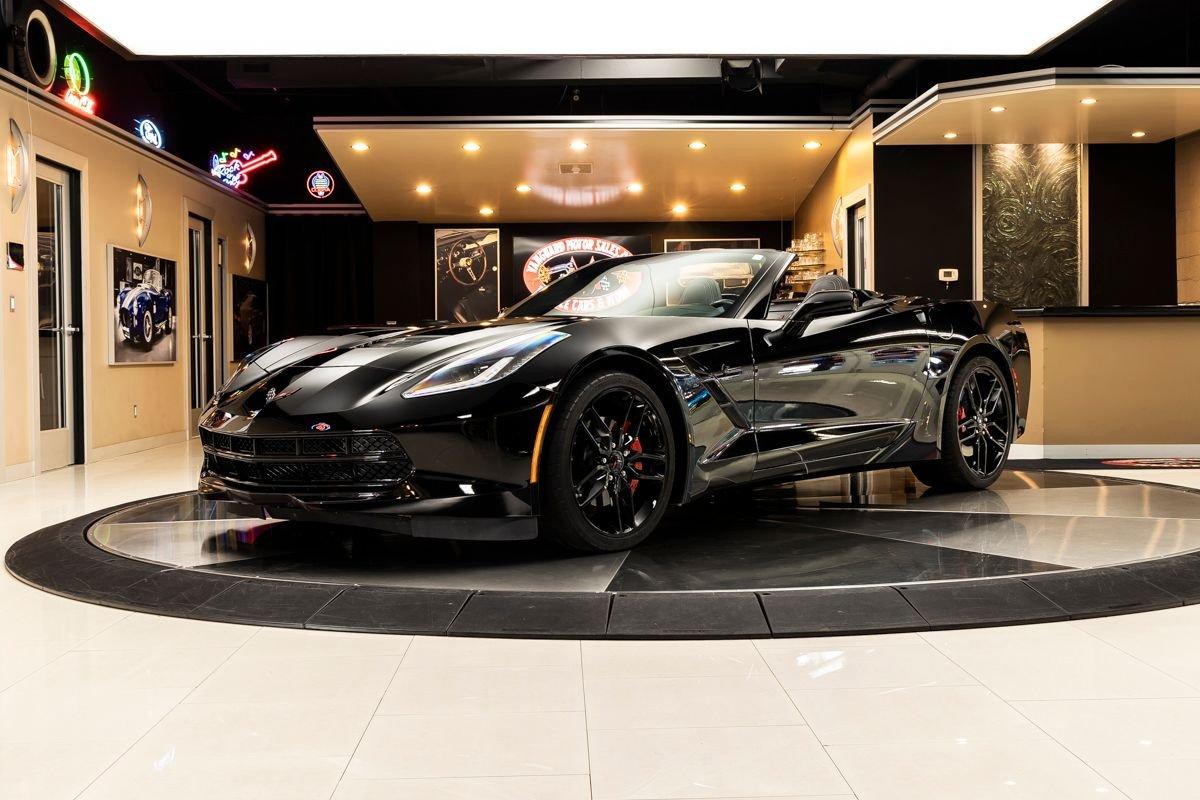 2018 chevrolet corvette stingray 1lt convertible
