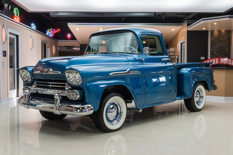1958 Chevrolet Apache Classic Cars For Sale Michigan Muscle Old