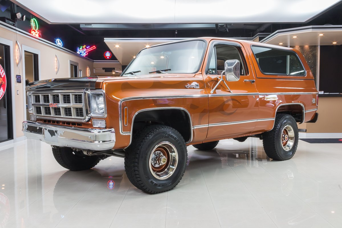 1977 gmc jimmy 4x4