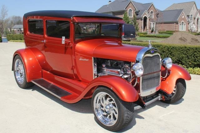 1929 ford street rod watch video