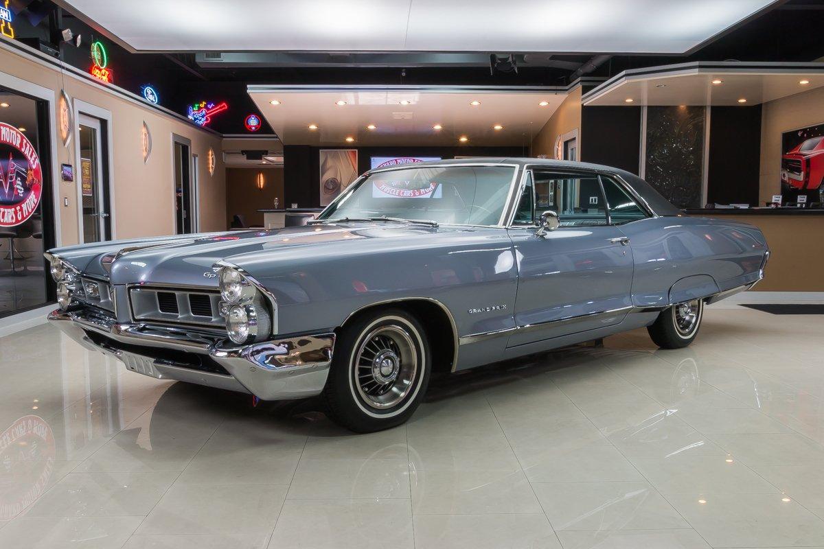 1965 Pontiac Grand Prix Classic Cars For Sale Michigan Muscle Old Cars Vanguard Motor Sales
