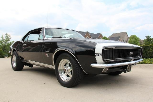 1967 chevrolet camaro rs ss big block