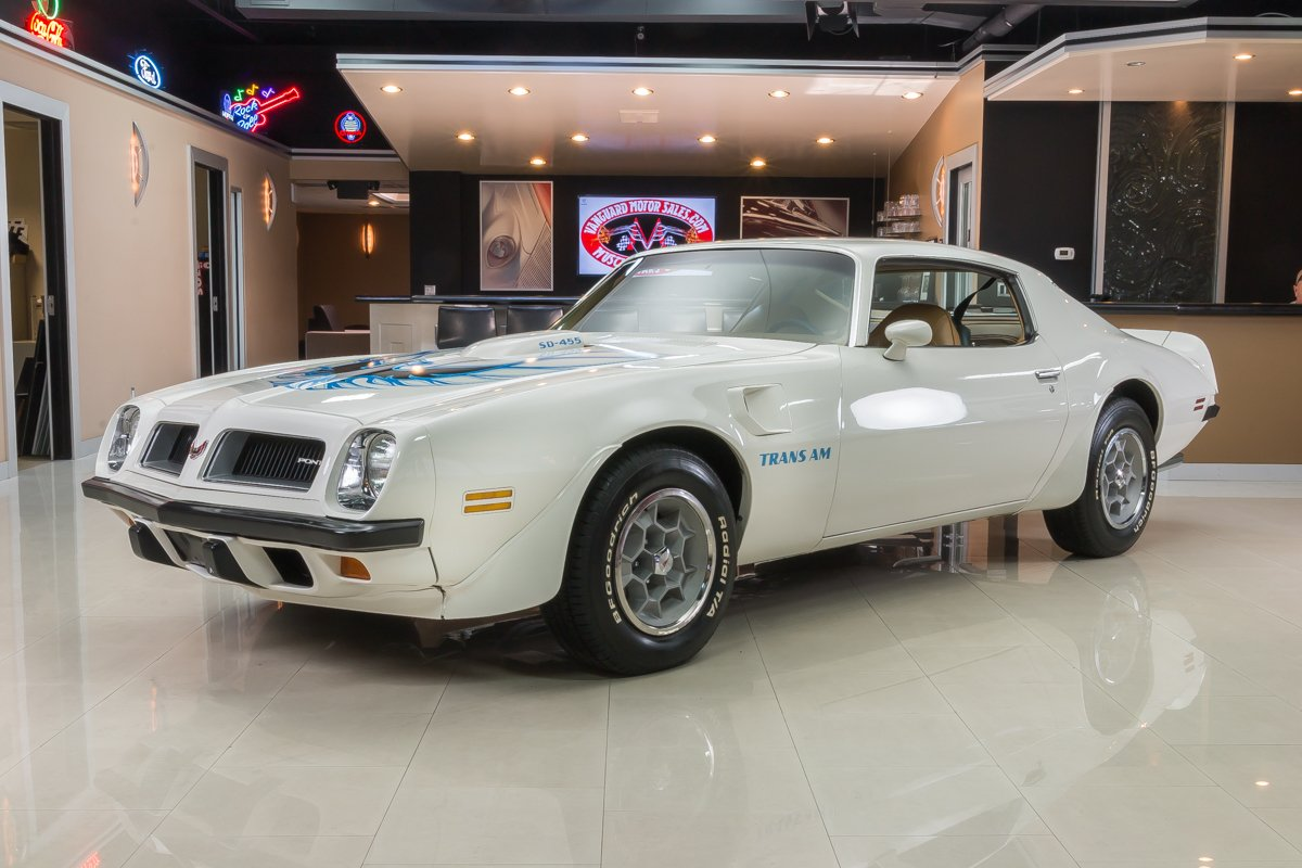 1974 Pontiac Firebird Classic Cars For Sale Michigan Muscle Old Cars Vanguard Motor Sales
