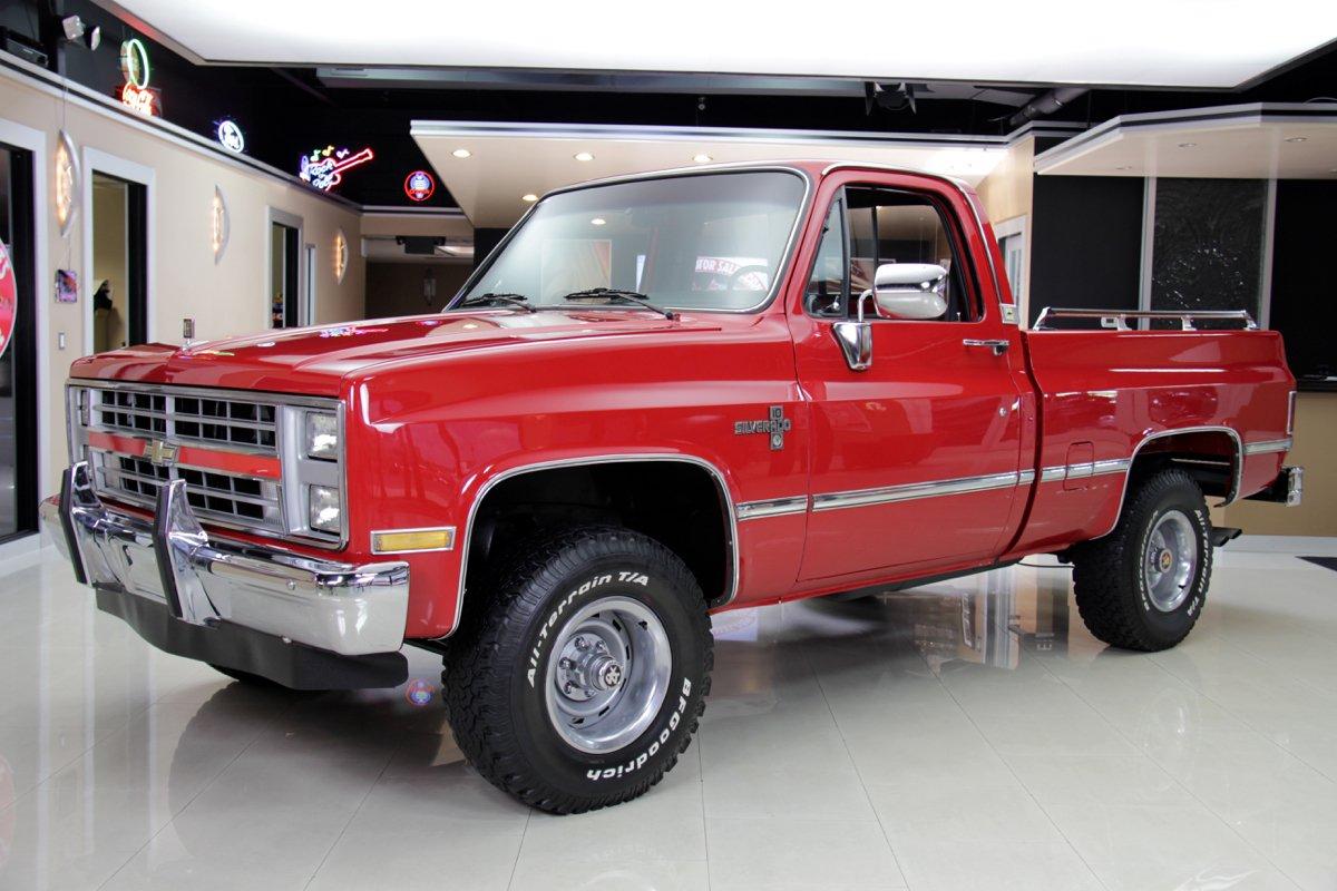 1985 chevrolet silverado 4x4 pickup