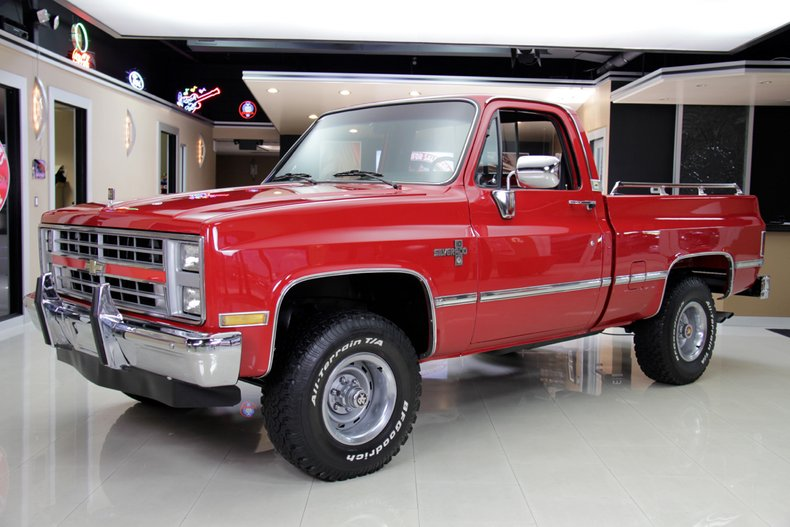1985 Chevrolet Silverado 4x4 Pickup For Sale 49469 Mcg
