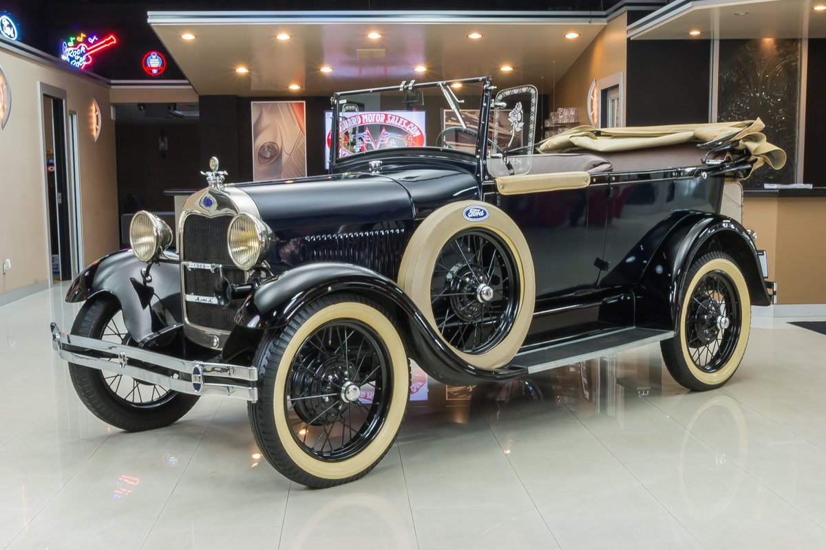 For Sale 1928 Ford Phaeton