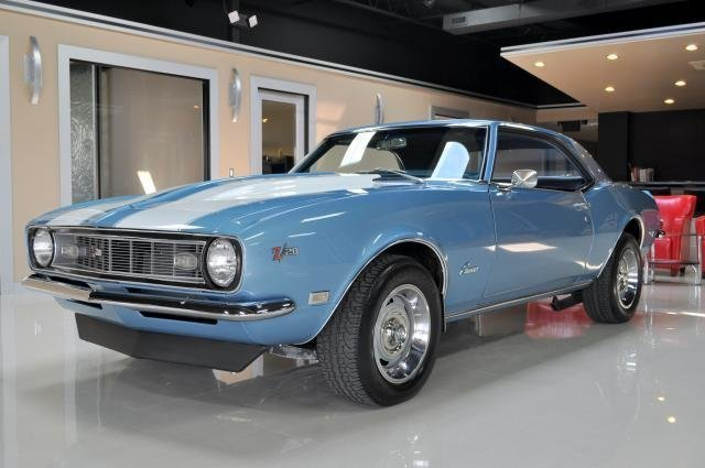 1968 chevrolet camaro watch video